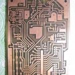 Thermal transfer method for creating PCBs at home, Go-ESR meter